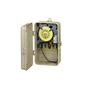Intermatic T104p201 Dpst Time Switch In Plastic Enclosure The Intermatic 2 Circuit Time Switch Allows For Automa Swimming Pool Heaters Switch Pool Equipment