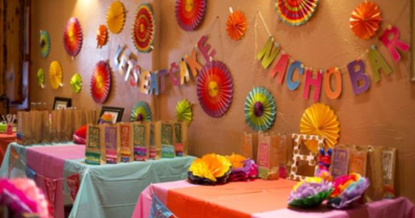 Her 1st Birthday Party Birthday Party Halls Homemade Birthday Decorations Birthday Decorations