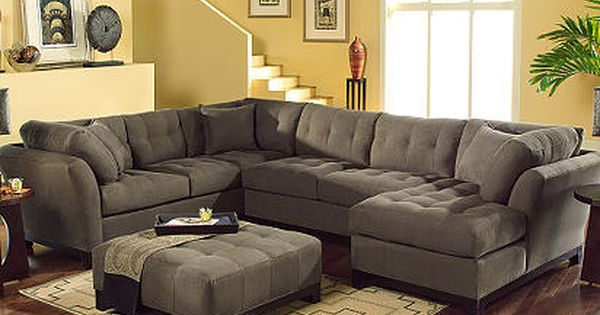 Cindy Crawford Home Metropolis Espresso Right 4 Pc Livingroom Furniture Ideas Pinterest