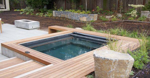Backyard Yard Layout And Hottub House Ideas