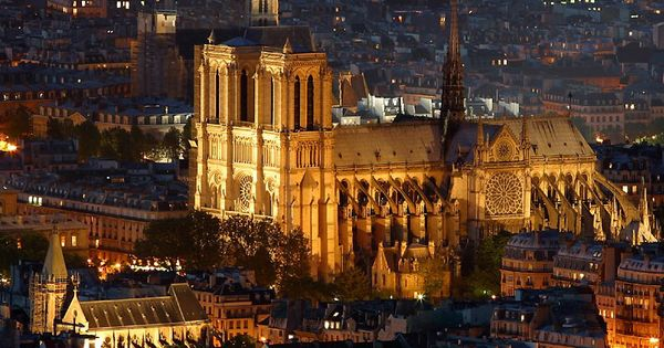 Notre Dame Cathedral , one of my favorite places in Paris