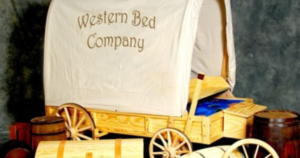 Kids Covered Wagon Beds : For the Home : Pinterest : Covered wagon, Room ideas and Spare room