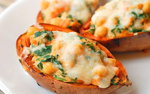 Healthy Sweet Potato Skins sweetpotato healthyeats healthyeats