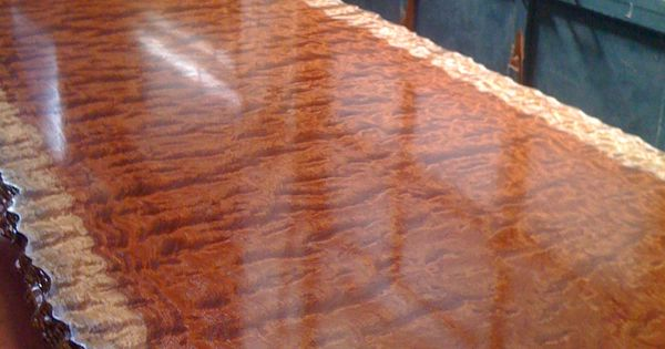 The Making Of Our Waterfall Bubinga Table Part Ii West