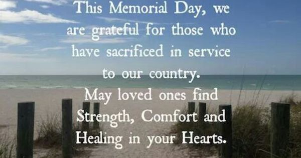 memorial day greeting card messages