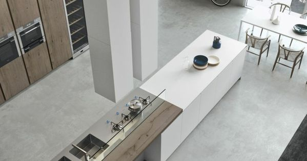 moderne k chen minimalistisch ger umig zeitgen ssisch. Black Bedroom Furniture Sets. Home Design Ideas