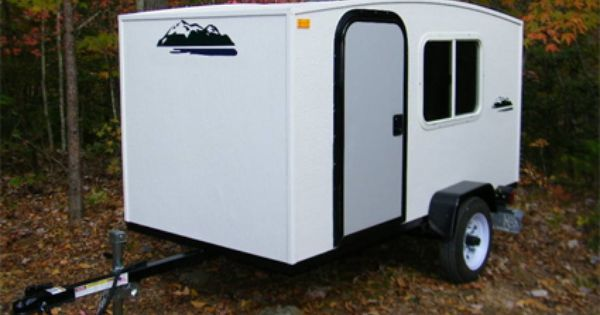 4 x 8 1 2 person enclosed camper trailer made - Small Camper Trailer 2