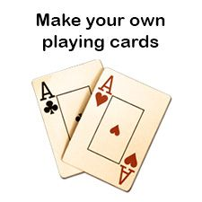Do You Want To Make Your Own Playing Cards Download The Blank Playing Card Template Pdf Below Blank Playing Cards Printable Playing Cards Make Playing Cards