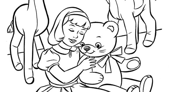 stuffed animal coloring pages - photo#36