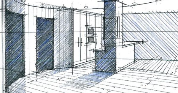 Croquis d 39 avant projet sommaire r alis s par l 39 agence de for Honoraire d un architecte