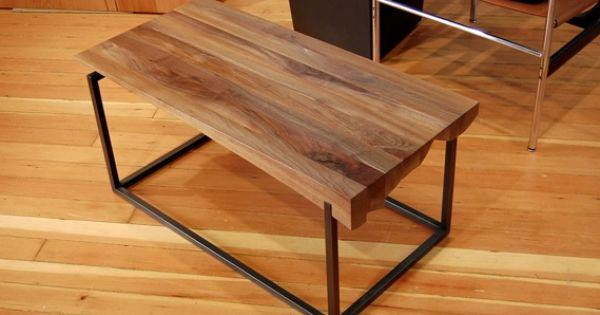 Urban Hardwoods Furniture Seattle Walnut Coffee Table Living Room Pinterest Furniture