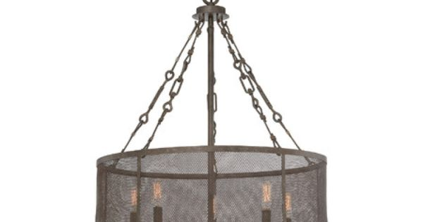 Found it at wayfair barton 5 light drum pendant http for Wayfair industrial lamp