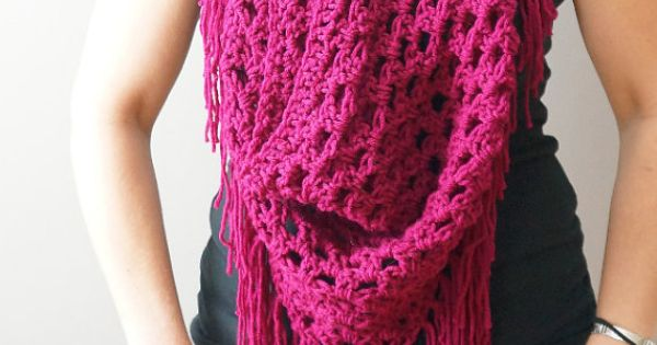 Crochet Patterns Intermediate : ... Pattern / Beginner-Intermediate Crochet Pattern Crochet scarfs