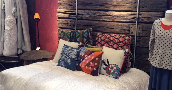Bed Frame And Headboard Made From Old Railroad Ties Diy