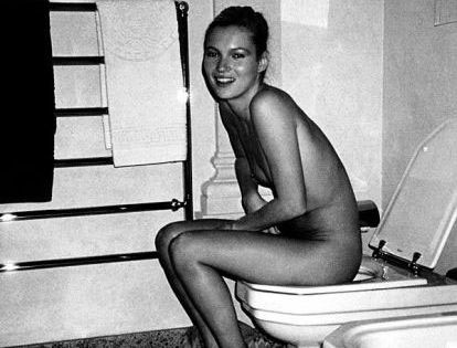 Messages Kate moss toilet you