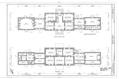 The Devoted Classicist Carter S Grove House Plans Online Colonial House Plans Floor Plans