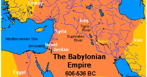 A comparison of the the fall of the historical babylon