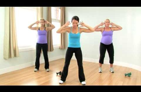 prenatal workout with autumn calabrese  fitness