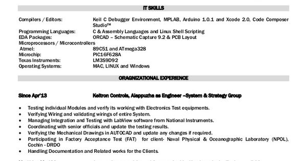mohammed irshad mobile mail irs gmail electronic engineer resume - mobile testing resume