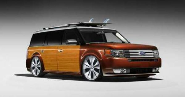 Too Cool For My Ford Flex 20 Photos Ford Flex Woody Wagon Ford