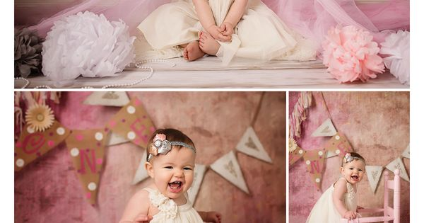 One year old picture ideas | First birthday pictures | Julie Pottorff