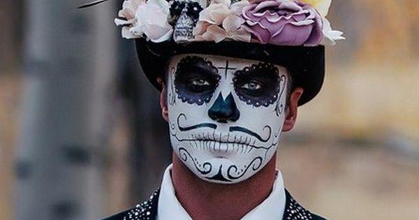 Day Of The Dead Makeup For Men Eydt