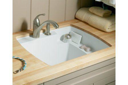 Sterling 995 U Latitude Vikrell Undermount Utility Sink 25 X 22