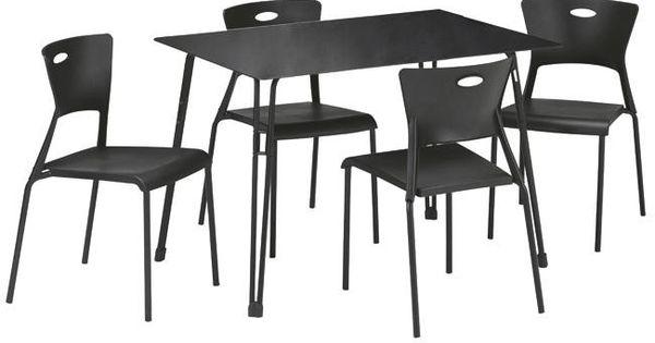Conjunto mesa 4 sillas lea en conforama mesas de comedor for Mesas de comedor conforama