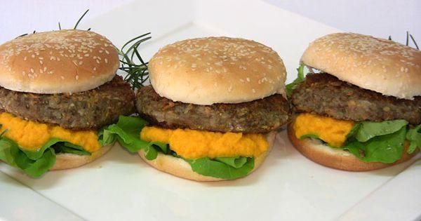 Hamburguesas de lentejas hamburguesas de lentejas - Hamburguesas vegetarianas caseras ...
