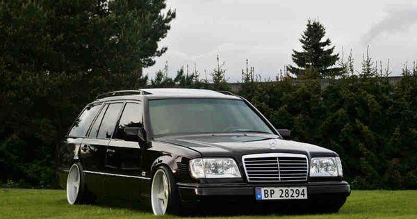 Classic slammed mercedes wagon lee 39 s board pinterest for Mercedes benz b1 service