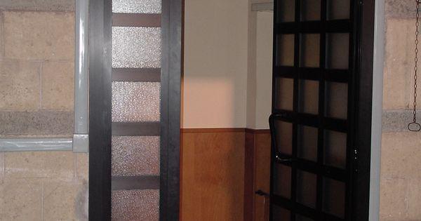porta interna in alluminio e vetri satinato   portoncini e porte ... - Legno Di Teak Porta Dingresso Di Fusione
