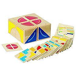 Buself Tetris Holzpuzzle Spielzeug ab 3 Jahren Jungen Tetris Tangram Holzpuzzles Lernspiele ab 2 3 4 5 6 Jahre Geburtstag Junge Geschenk Puzzle Holz Spielzeug