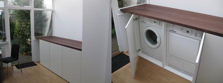 Spiksplinternieuw Idee wasmachine in keuken. (met afbeeldingen) | Wasmachine, Keuken VI-44
