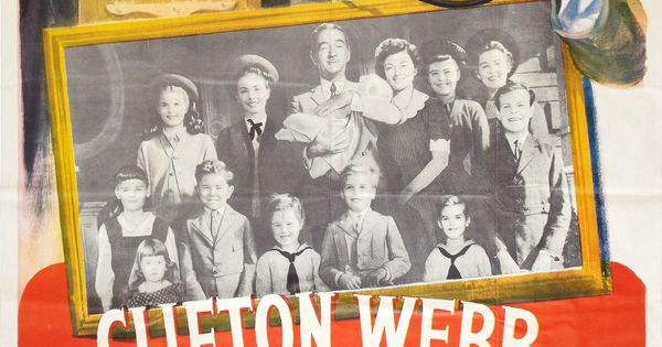 cheaper by the dozen 1950 vintage movie posters