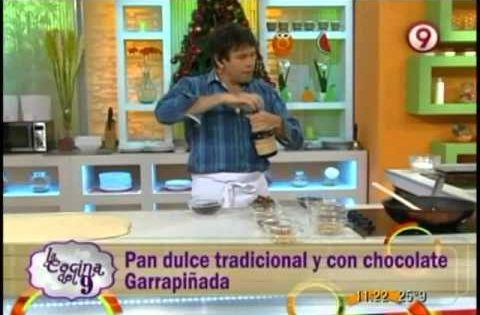 Pan dulce tradicional y con chocolate garrapi ada en la for Cocina 9 ariel rodriguez palacios pollo relleno