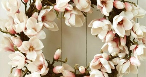.beautiful spring wreath