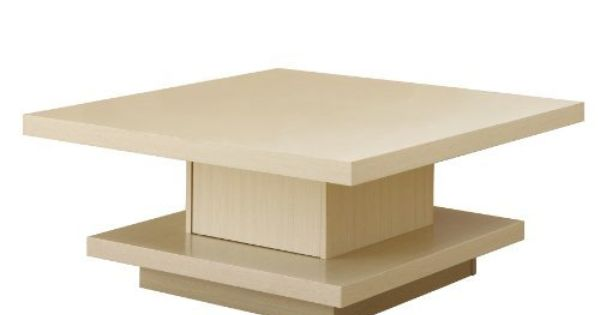 Enitial Lab Celio Square Coffee Table Ivory By Enitial Lab