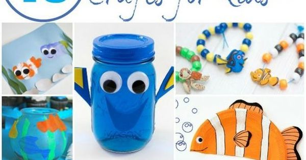 10 finding dory crafts your kids will love finding dory for Finding dory crafts for preschoolers
