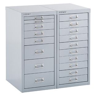 Bisley Silver 8 10 Drawer Collection Cabinets Storage Drawers Cabinet