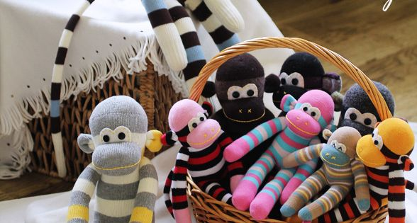 how to sew sock monkey too cute...my adult kids might even get