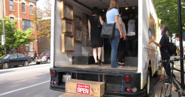Inside Mobile Art Art Gallery Art Studio