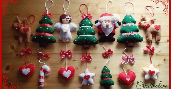 Make Felt Christmas Tree