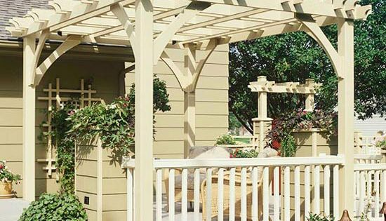 Nice pergola - back porch addition?