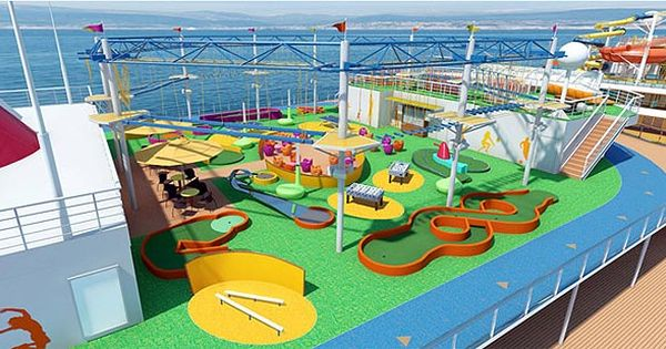 This Rendering Of The New Carnival Cruise Line Ship The