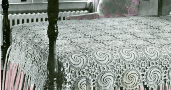 Crochet Swirl Bedspread
