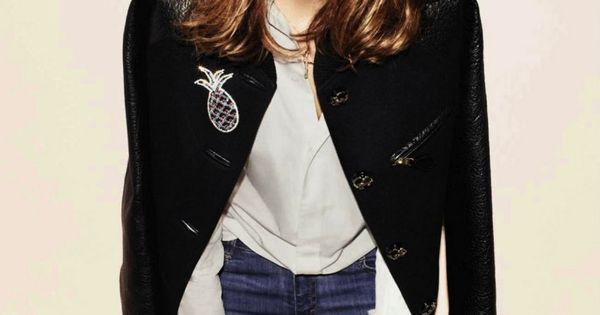Shoulder length hairstyles – Alexa Chung