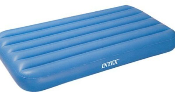 Kid S Portable Inflatable Blue Air Bed Mattress By Intex 10 95 Great For Camping Or Sleepingover Blue Inflatabke Air Bed Air Mattress Repair Inflatable Bed