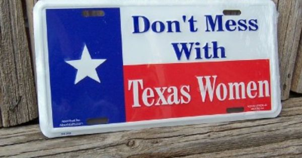 Decorative Texas License Plates For Cars