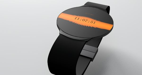 Touch Skin Watch by Niels Astrup // Design concept. Not in production...yet