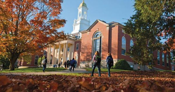 The Wilbur Cross Building On Campus At Uconn University Of